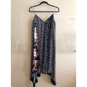 Rag & Bone mixed floral londar dress, sz S